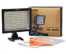 pro YN-160S YONGNUO LED Camera Video Lamp Light for Canon Nikon Pentax SLR DSLR