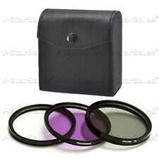 52mm Filter Kit  UV+ FLD+CPL F/ Canon 80-200 50 1.8