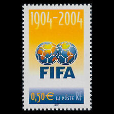 France 2004 - 100th Anniversary of FIFA Soccer Sports - Sc 3028 MNH