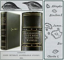 CHARLES DARWIN-JOURNAL OF RESEARCHES-1860-NATURALIST'S VOYAGE:GALAPAGOS/GEOLOGY