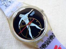 1992  Swatch Watch Standard Discobolus GK141 New