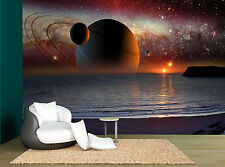 Sky Fantastic Planets Space Stars Photo Wallpaper Wall Mural GIANT WALL DECOR