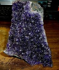 LARGE  AMETHYST CRYSTAL CLUSTER  GEODE FROM URUGUAY CATHEDRAL;