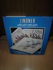 Lindner-T, EE. UU., 1978-1999, vordruckblätter como nuevo, embalaje original, 4 piezas completa (131)