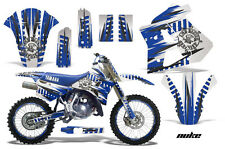 YAMAHA WR 250Z Graphic Kit AMR Racing # Plates Decal Sticker Part 91-93 NKBW