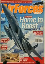 Air Forces Monthly April 2016 Home to Roost Fresno's Eagle Unit FREE SHIPPING sb