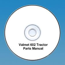 Valmet 602 Tractor Parts  Manual