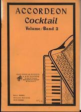 Accordéon Cocktail Volume / Band 3 - Music MENWEG