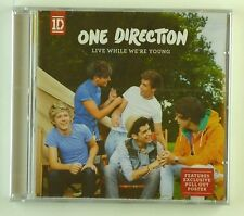 CD Maxi-One Direction-Live While We 're Young - #a1977 - NUOVO