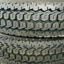11R24.5 DRIVE TIRES (4-TIRES) NEW HEAVY DUTY ROAD WARRIOR 16 PLY TRUCK TIRES