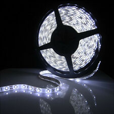New 5M 300LED 3528 12V Flexible Car Strip Light Strip Xmas Party Lamp Cool White
