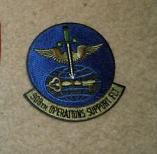 USAF PATCH, 908TH OPERATIONS SUPPORT FLIGHT