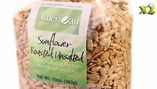 20oz Gourmet Style Bags of Roasted UnSalted Hulled SunFlower Seeds [1 1/4 lb.]