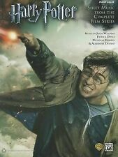 Harry Potter -Piano Music - Complete Film Series, Sheet Music Book, Songbook