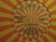 """THE EXCHANGE GIVE ME THE MUSIC 12"""" ORIG '85 SYNTH FUNK DISCO ELECTRO JAKKI NM-"""