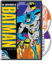 THE ADVENTURES OF BATMAN (1968 Animated)  2 disc -  DVD - Region 1 - Sealed