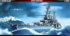 Academy 1/350 USS CA-35 Indianapolis Ship Plastic Model Kit NEW 14107 Military