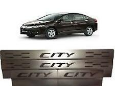Premium Quality S S Door Sill Scuff Plates Footstep for Honda City New