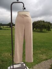 Smart CLASSICS Super Soft Suede Look Pull On Camel Trousers Plus Size 24 BNWT