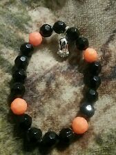 Avon Halloween Spooky Nights Stretch Bracelet with Ghost Charm New & Boxed