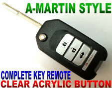 ASTON STYLE FLIP KEY REMOTE FOR 09-2014 ACURA TL TSX ZDX CHIP KEYLESS ENTRY FOB