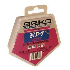 100g Briko Maplus BP1 Violet Cool Ski Wax | Fast Glide Tuning Waxing