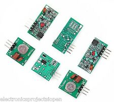 433Mhz RF transmitter and receiver Module link kit for Arduino/ARM/MCU WL DIY