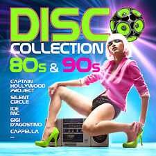 CD Disco Collection 80s and 90s von Various Artists 2CDs
