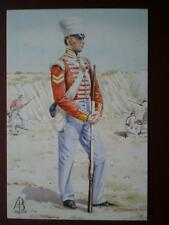 POSTCARD 10TH NORTH LINCOLN REG OF FOOTSOBRAON 1846 ALIX BAKER