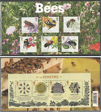GB Presentation Pack 515 2015 BEES WITH HONEYBEE MINIATURE SHEET 10% off any 5+