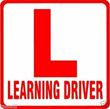 REFLECTIVE L LEARNING DRIVER STICKER FOR CARS -1 Piece