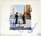 PINK FLOYD HAND SIGNED AUTOGRAPHED WISH YOU WERE HERE ALBUM! RARE! W/PROOF +COA!