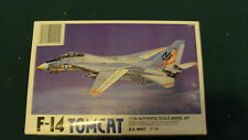 LEE / F-14  / TOMCAT JET FIGHTER - 1/44 SCALE MODEL KIT
