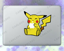 Pokemon Pikachu (B) Color Vinyl Sticker for Macbook Air/Pro