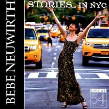 NEUWIRTH,BEBE-STORIES IN NYC: LIVE AT 54 BELOW CD NEW