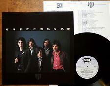 Copperhead  - Same s/t - UK 1973 + Insert - John Cipollina  Edsel ED136 TOP MINT