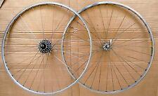 Vintage Mavic MA 2 Argent Wheels 700 C, Shimano Ultegra 600 Hubs Excellent Retro