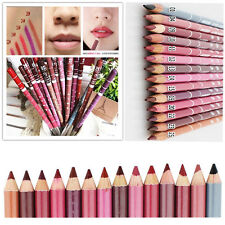 12 PCS /Lot Colors Professional Women Lipliner Waterproof Lip Liner Pencil 15CM