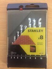 Stanley 8pcs Masonry Drill Bit Set STA 56040