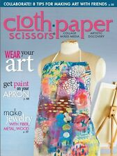 Cloth Paper Scissors Magazine May/June 2015 (Originally £5.50)