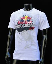 Alpinestars red bull Motocross Carmel White atletic mens T shirt size 2xlarge