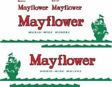 MAYFLOWER  CUSTOM SEMI  TRUCK  DECAL  SET