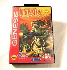 NEW SEALED Dinosaurs for Hire Tom Mason Sega Genesis Video Game Rare NICE System