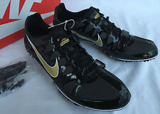 new Nike Zoom Rival S 6 Gold 456812-071 Track Spikes Running Shoes Men's 11.5
