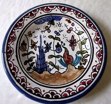 Hand Painted Decorative Berrardos Small Plate Made in Portugal