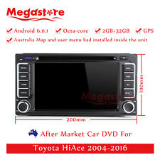 """6.2"""" Octa Core Android 6.0 Car DVD GPS Player Navi For Toyota HiAce 2004-2016"""
