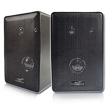 Acoustic Audio 251B 3-way 400-watt Black Indoor/ Outdoor Speakers