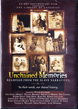Unchained Memories - Readings from the Slave Narratives (DVD, 2003)  Brand New
