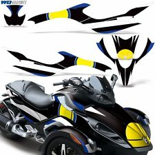 Full Graphic Kit Can-Am Spyder RT RT-S Decals Cam Am Roadster Wrap BRP Parts R