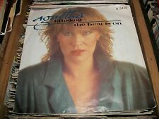 "AGNETHA FALTSKOG- THE HEAT IS ON VINYL 7"" 45RPM P/S"